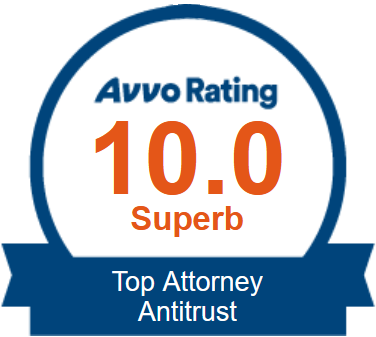 Avvo Badge: Top Attorney Antitrust