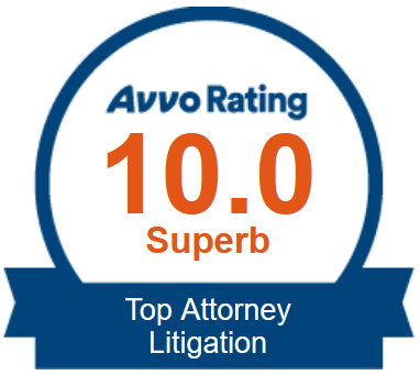 Avvo Badge: Top Attorney Litigation